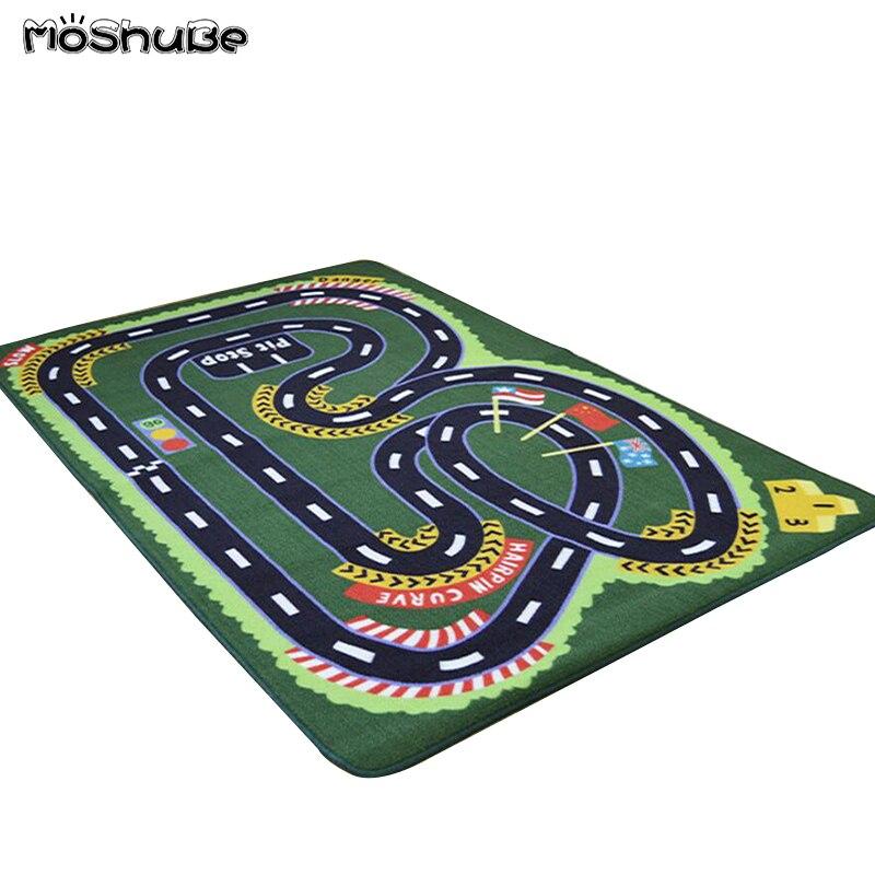 Voiture route bébé tapis de jeu sol doux tapis ramper tapis enfants tapis pépinière garçons chambre décoration enfants tapis