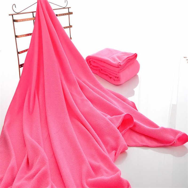 1 toalla de baño de Microfibra, toalla absorbente de secado, toalla de playa, traje de baño, ducha, lavado facial, toallas de baño de salón de belleza