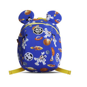Disney Backpack Antilost Schoolbag Toddler Cartoon Leashes Wrist-Link Walking Children