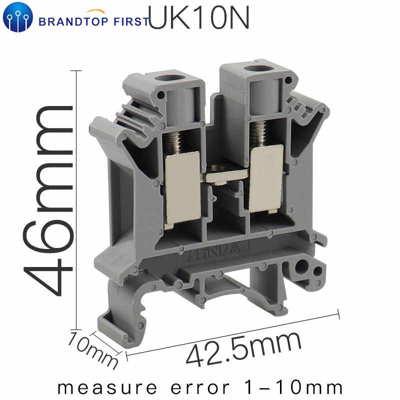 UK-3N DIN Rail Universal Terminal Blocks Screw Tipe UK2.5B UK5N UK6N UK10N UK16N