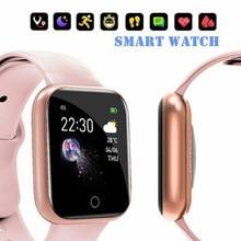 Смарт-часы I5 для мужчин и женщин, спортивные Смарт-часы с Bluetooth, пульсометром, тонометром, фитнес-трекером для часов Fitbit, Android