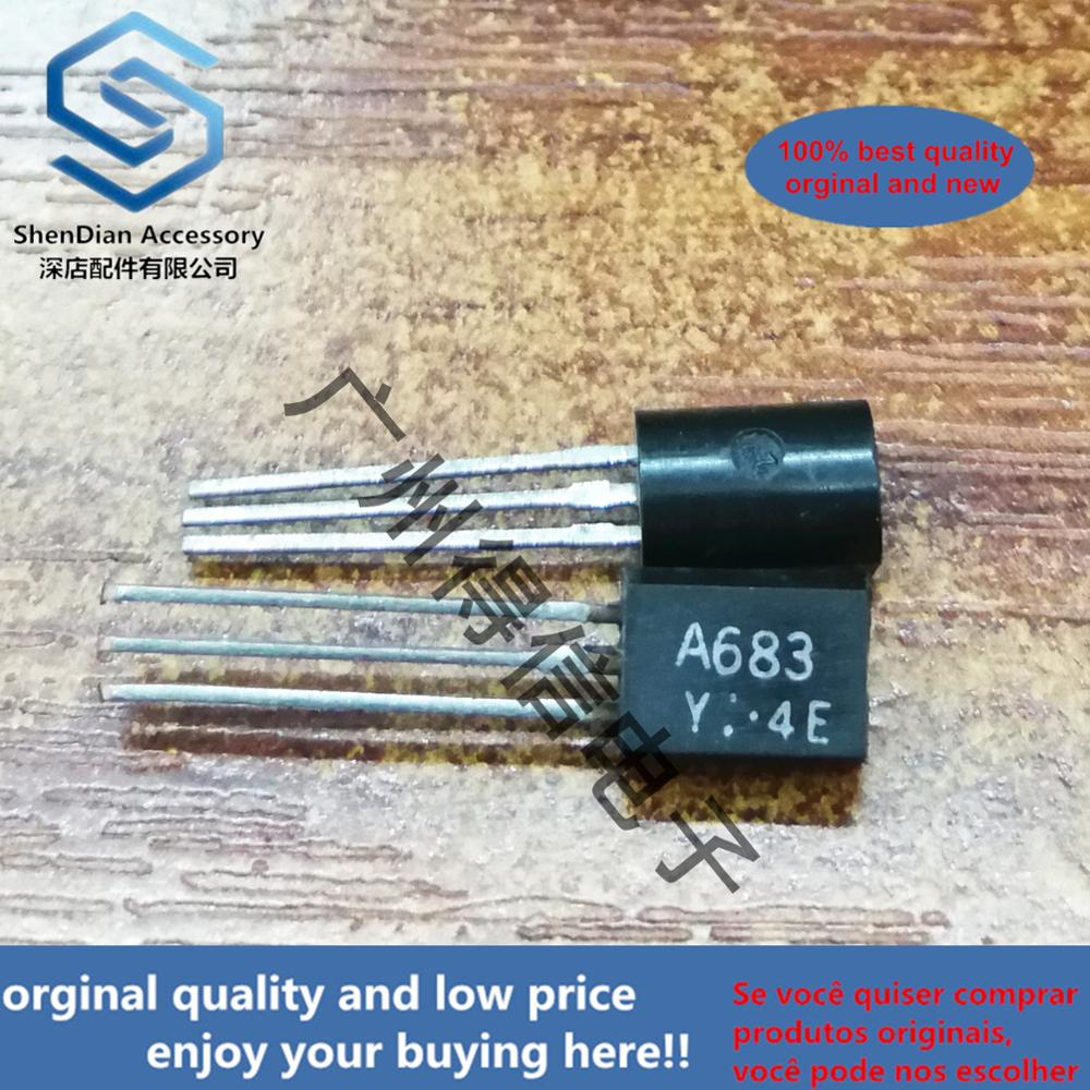 10pcs 100% New And Orginal 2SA683Y A683  TO-92L In Stock