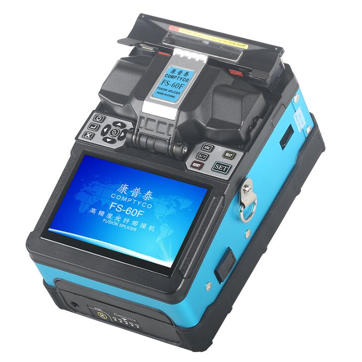 2020 New Splicing Machine Optical Fiber Fusion Splicer FS-60F Free Shipping