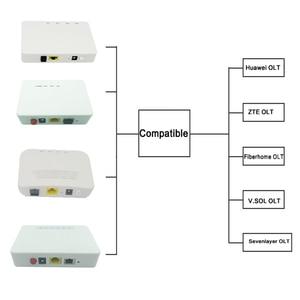 Image 3 - XPON onu Epon  ont hibrida FTTH fiberhome  modem Hg8310m  Second hand HG8010C 1GE GPON