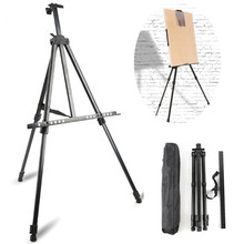 Travel Easel Art-Supplies Sketch-Drawing Artist Adjustable Aluminum-Alloy Metal for Triangle