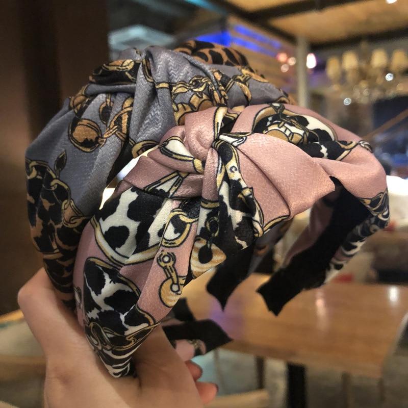 Women/'s Girl Fabric Lace Dot Headband Creative Wide-brimmed Accessories Headband