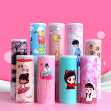 Creatieve Plastic Whiteboard Etui Magnetische Schakelaar Kawai Cartoon Pen Box School Mac Makeup Kantoor Organisatie Newmebox(China)
