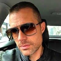 AOZE 2020 di Modo Classico A Cinque stile gradiente coolunisex occhiali da sole di marca degli uomini di Disegno di occhiali da sole Vintage occhiali da sole UV400