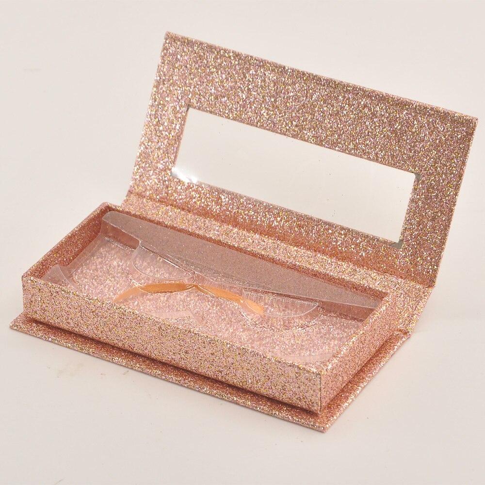 25mm cílios postiços maquiagem caso de etiqueta privada fornecedor