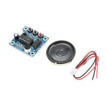 ISD1820 10s микрофон голосовой Звук воспроизведения доска запись рекордер модуль комплект микрофонов Аудио Динамик Громкий динамик для Arduino