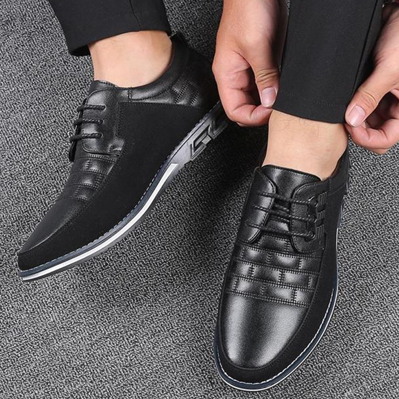 Oxfords Leather Men Shoes Fashion Casual Slip On Flats Male Sneakers Men Trainers Shoes Driving Moccasins Chaussure Homme Cuir