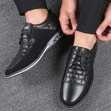 Oxfords Lederen Mannen Schoenen Mode Toevallige Slip Op Flats Man Sneakers Mannen Trainers Schoenen Rijden Mocassins Chaussure Homme Cuir