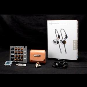 Image 5 - A15 الرياضة باس 3.5 مللي متر سماعات A15 برو مرحبا الدقة HiFi سماعة رأس جهيرة الصوت سماعات الأذن الديناميكي مرحبا الدقة ياربود مع MMCX