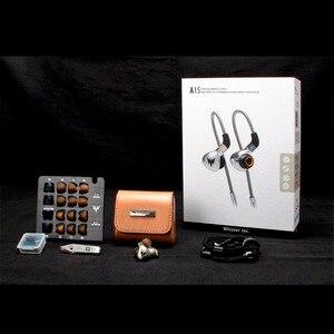 Image 5 - Auriculares deportivos de graves A15 Pro HiFi, de alta resolución, dinámicos, con MMCX, 3,5mm