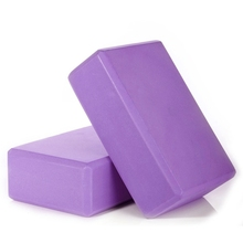 2Pcs Yoga Block Foaming Foam Brick Exercise Fitness Stretching Aid Gym цена 2017