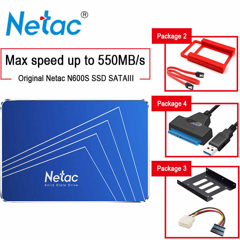 "Netac dysk ssd 1tb disk HDD 1 TB 2.5 ""sata usb disque dur ssd 512GB 256GB 128GB disco duro Solid State externo do laptopa laptop dell HP Notebook pulpit pc dyski ssd жесткий диск crucial ssd laptopy obudowa hdd"