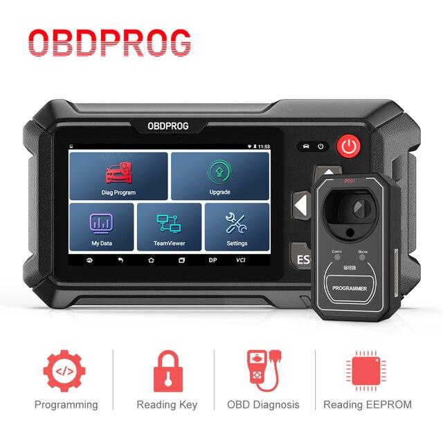 OBDPROG 501 Car Key Programmer Professional Wifi Remote Code Reader OBD2 Car Master Immobilizer Pin Code IMMO Diagnostic Tools