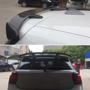 Use For BMW 1 Series F20 Roof Spoiler 2012--2019 Year 5-door Real Carbon Fiber Rear Wing Sport Accessories Body Kit image