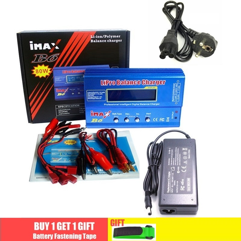 Balance-Charger Adapter Nimh Battery POWER Digital Imax B6 Lipo AC Drop RC 5A 12v title=