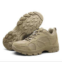 Men Outdoor Low Ankle Light Breathable Tactical Military Army Boots Big Size Sport Trekking Shoes Hiking Climbing Camping Shoes