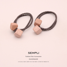 2 Pieces Double Stranded Elastic Hair Bands For Girls Popular Headwear Adult Rubbers Accessories