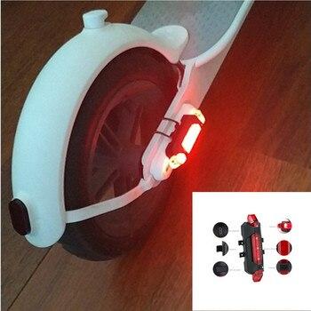 Предупреждающие светодиодные полосы света лампы для Xiaomi Mijia M365 электрический скутер ночной велосипед безопасности декоративный свет Аксес...