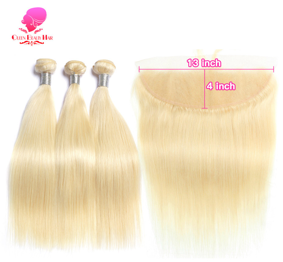 613 blonde bundles with frontal (1)