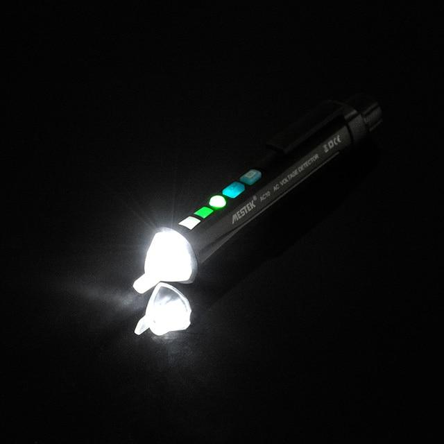 Фото mestek бесконтактный детектор напряжения переменного тока тестер