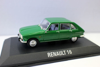 Fine Edition 1/43 New Die-cast Metal Renault 16 Convertible Classic French Car Model Home Collection Toys For Children