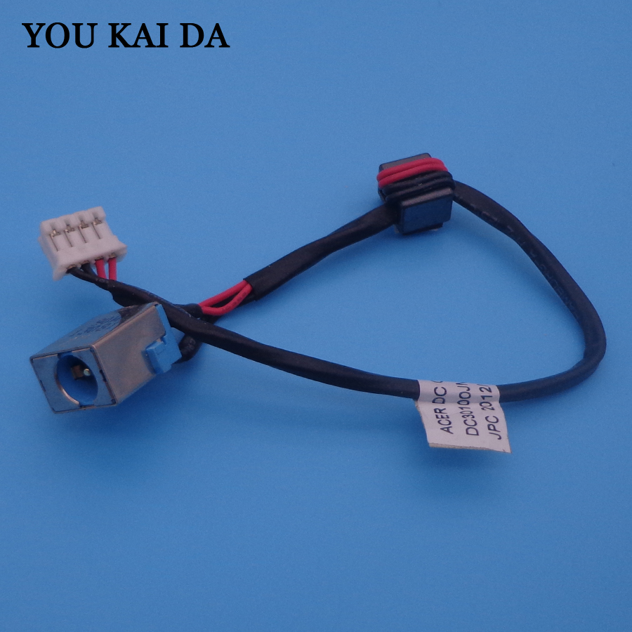 90 watt Laptop DC Power Jack Cable Socket Wire connector for Acer Aspire E1-571 E1-571g series 90W