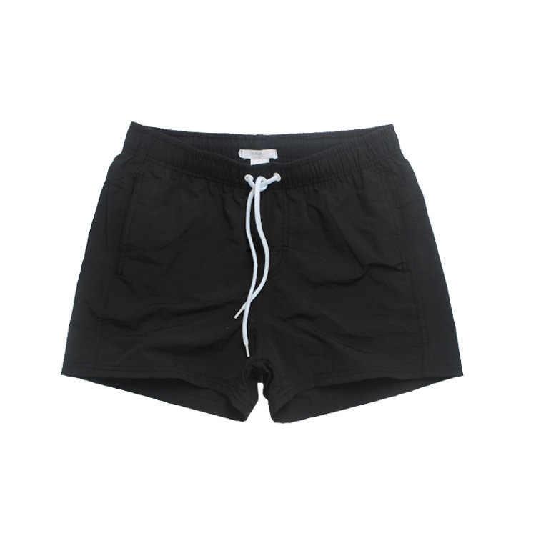 De malla forrada Mens natación cortos Nylon rápido seco baño corto Shorts de baño de surf playa deporte de ocio desgaste traje de baño calzoncillos hombre