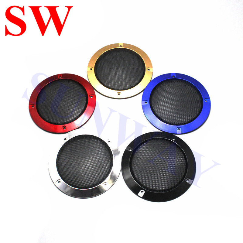 Free shipping 10pcs 4 inch Speaker Grill Covers Speaker net Plastic Speaker Parts Wholesale Speaker Component for arcade cabinet