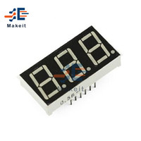 0,56 pulgadas de pantalla LED de 7 segmentos, 1 Bit 2 Bit 3 poco de 4 bits de tubo rojo azul cátodo común/ánodo Digital 0,56