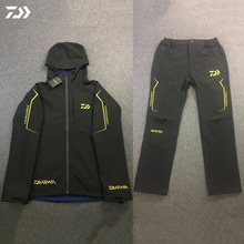 Daiwa новые уличные костюмы для рыбалки мужские теплые куртки одежда для подледной рыбалки ветрозащитная спортивная одежда походная куртка и штаны