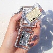 Pocket Focus Small Eyeshadow Single Color Perform Colorful Dazzling Eye Makeup Glitter Shimmer Shinn