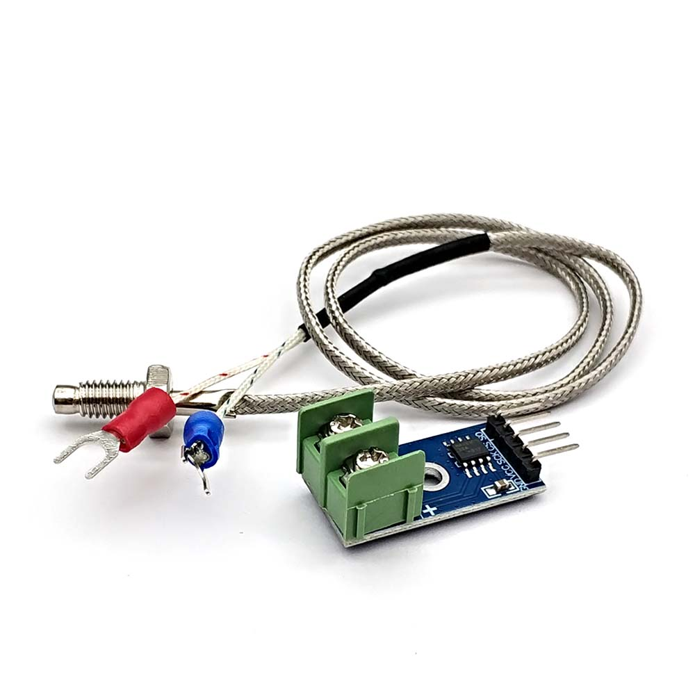 E Type Thermocouple Temperature Sensor DC 3~5V KOOBOOK 2Pcs MAX6675 Module