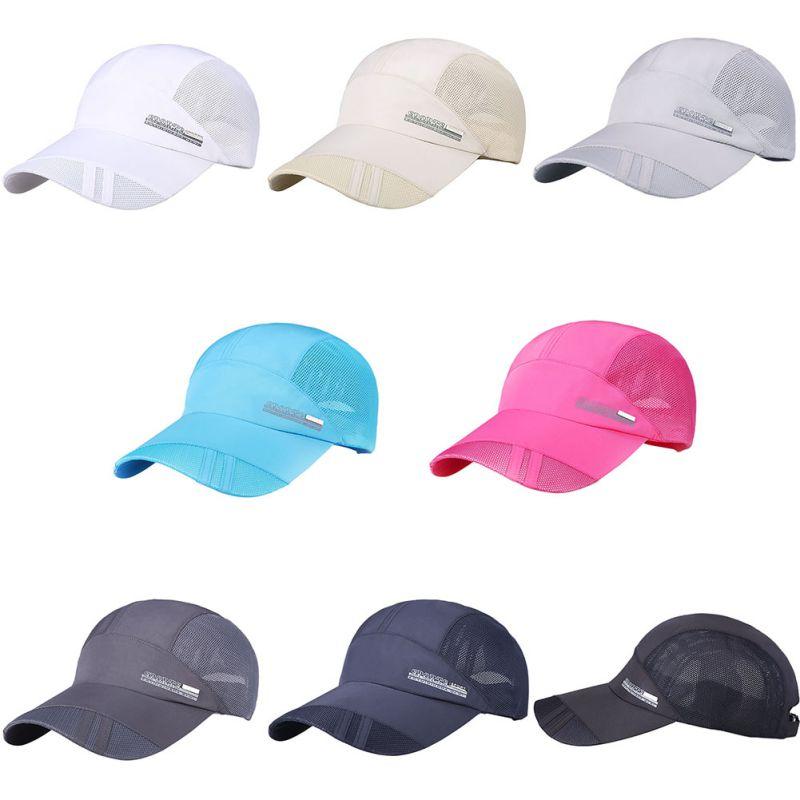 Unisex Summer Outdoor Sport Hat Running Visor Cap Hot Popular Baseball Sport Caps Outdoor Adjustable Hat