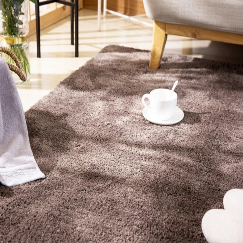 Tapis de sol créatif tapis de salle de bain couleur unie absorbant paillasson anti-dérapant tapis pied tapis tapis zone couverture