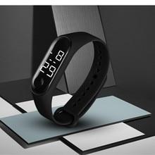 2019 Sports Watches for Women Men Kids Fashion Electronic Silicone Bracelets Wri