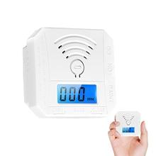 Analyzer Co-Detector Alarm-Sensor Carbon-Monoxide-Meter Digital Smoke Household Mini