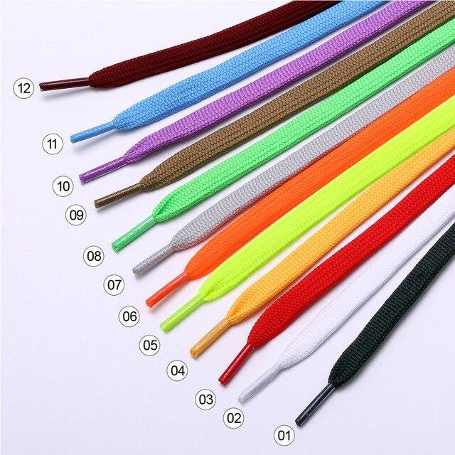 Фото 1 пара повседневных шнурков 12 цветов 80 см 120 140 мужские/женские