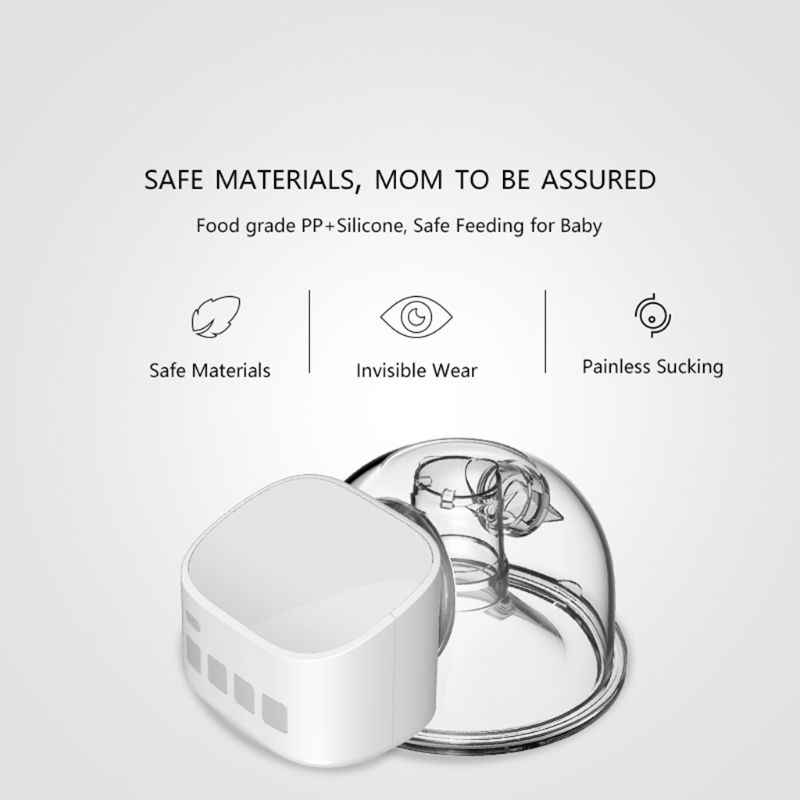 Portable Electric Breast Pump Double Silent Wearable Hands-Free Automatic Milker-Wearable Electric Breast Pump,Electric Breast Pump Double Silent Wearable Automatic Milker Hands