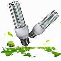 Luminous E27 kukurydzy światła LED żarówki W kształcie litery U oświetlenie domu SMD2835 9W biały