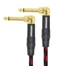 Инструмент правый угол jack 635 мм моно кабель Позолоченные