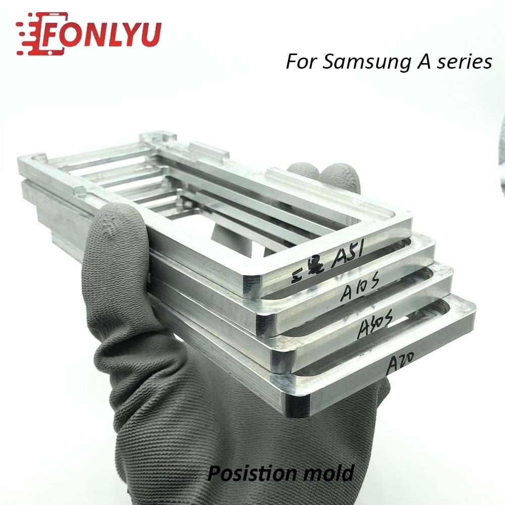 Position Mold For Samsung A2 A01 Core A10 A20 A30 A40 A50 A70 A80  A90 5G A51 A71 A10e 20e Location Mould LCD OCA Glass Laminate