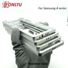 Moule de positionnement pour Samsung A2 A01 Core A10 A20 A30 A40 A50 A70 A80 A90 5G A51 A71 A10e 20e LCD en verre laminé