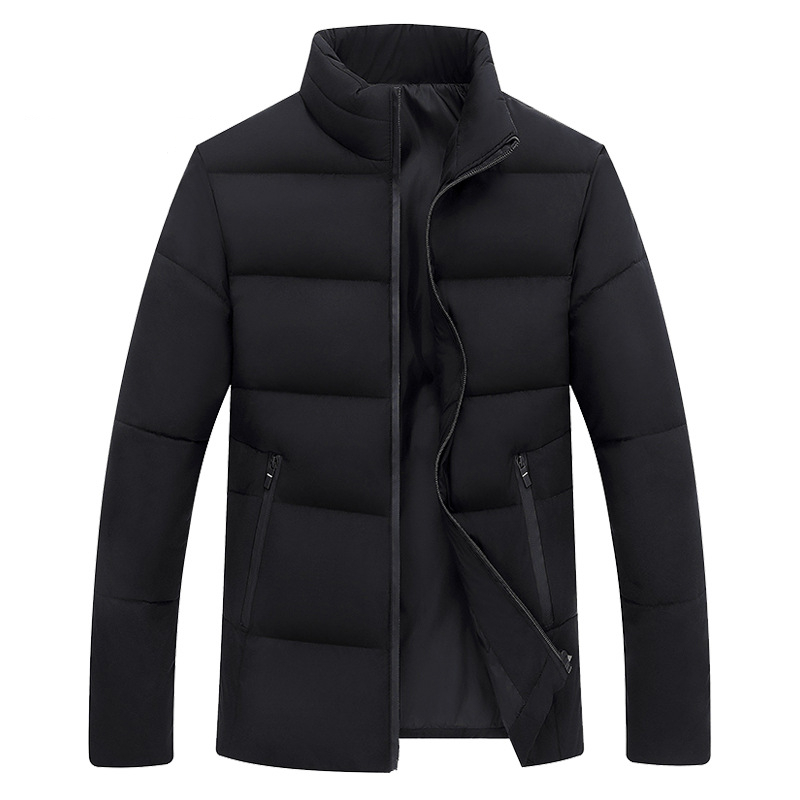Big Size White Duck Down Men's Winter Jacket Ultralight Down Jacket Casual Outerwear Snow Warm Stand Collar Brand Coat Parkas