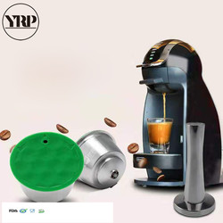 Dolce gusto ekspres do kawy kapsułki wielokrotnego użytku kapsułki nespresso wielokrotnego użytku filtr do kawy ze stali nierdzewnej akcesoria kuchenne narzędzie w Filtry do kawy od Dom i ogród na