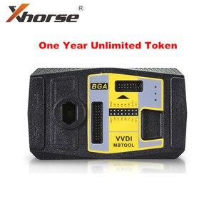 Image 1 - Xhorse vvdiメガバイトbgaツールベンツパスワード計算無制限トークン 1 年間