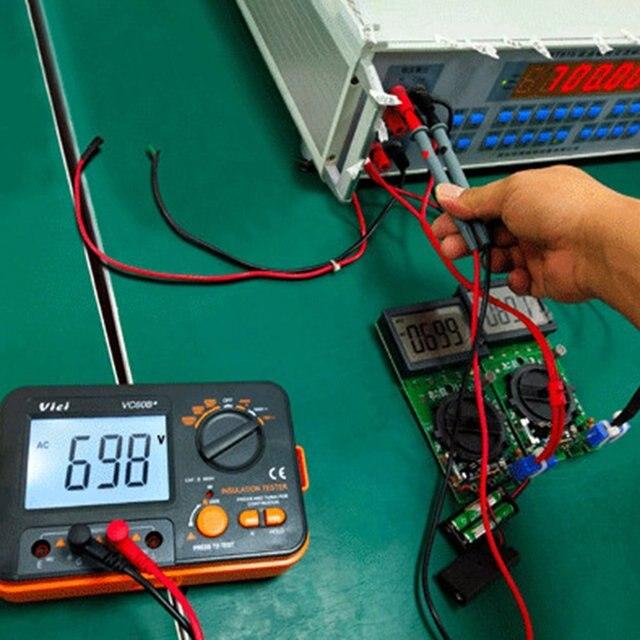 Vc60b + тестер сопротивления изоляции 250 в 500 1000 цифровой